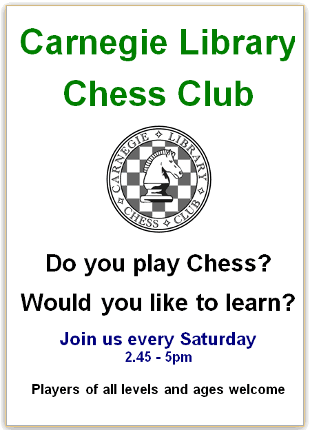 Chess club in action