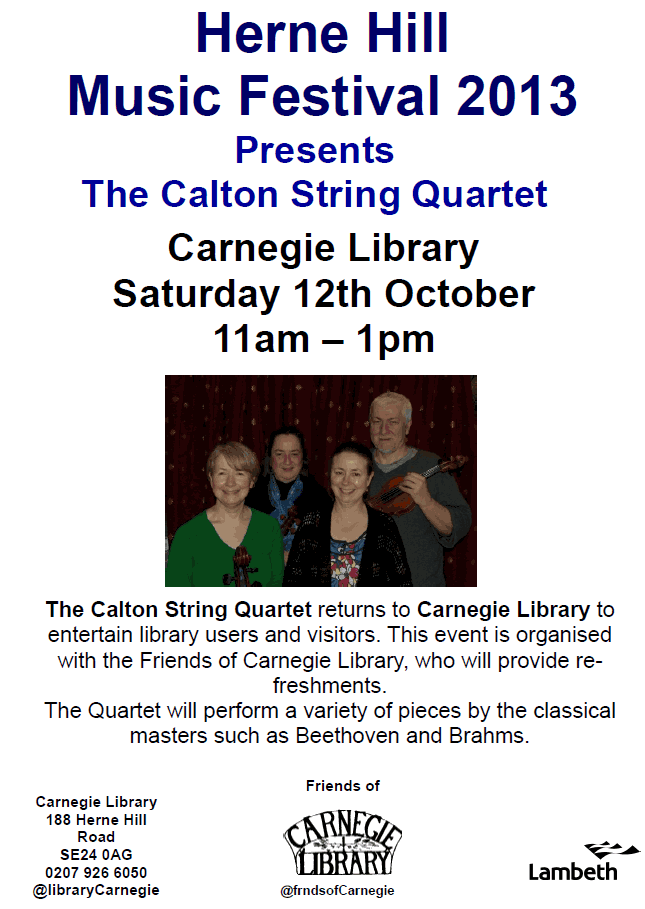 Calton String Quartet