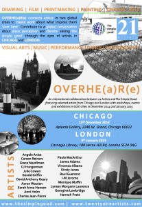 OVERHE(a)R(e) POSTER Exhibition (January 2015)