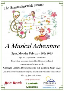Musical Adventure - Feb 2015